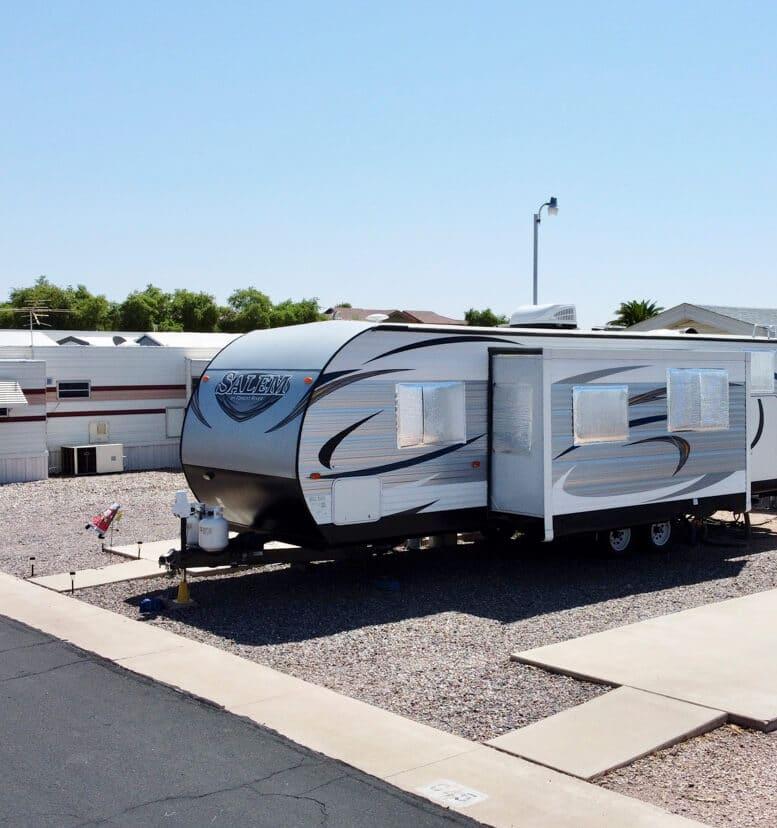 Extended Stay RV Park in Mesa, AZ
